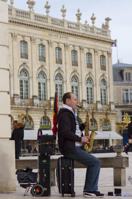 Saxophoniste Place Stanislas #Nancy #Nancyville